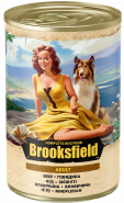 BROOKSFIELD Adult Dog консервированный корм для собак Говядина с рисом 400гр