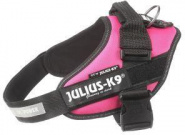 JULIUS-K9 шлейка для собак IDC®-Powerharness, темно-розовый