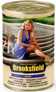BROOKSFIELD Adult Dog консервированный корм для собак Говядина с Ягнёнком и рисом 400гр