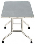 SHOW TECH Pro SeriesTrolley Table LOW румерский стол LOW с колесами, 110х60х60 см