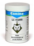 Витамины Canina Cat-Vitamin Tabs для кошек 100 таб