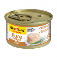 "Gimdog Pure Delight ""цыпленок"" для собак, 85г"