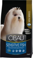 Farmina Cibau Sensitive Fish Mini Сухой корм для собак мелких пород с рыбой