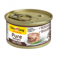 "Gimdog Pure Delight ""цыпленок с говядиной"" для собак, 85г"