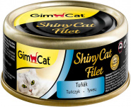 GimCat ShinyCat Filet консервы для кошек из тунца 70 г