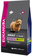 Eukanuba Dog Adult для собак мелких пород, с курицей