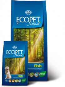 Farmina Ecopet Natural Fish MAXI Сухой корм для собак крупных пород с рыбой