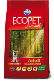 Farmina Ecopet Natural Adult Mini Сухой корм для собак мелких пород
